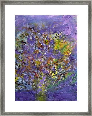 Lavender Memories Framed Print by Anne-Elizabeth Whiteway