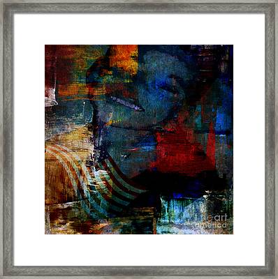 Le Beau Framed Print by Fania Simon