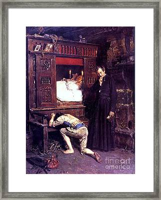 Le  Retour Framed Print by Pg Reproductions