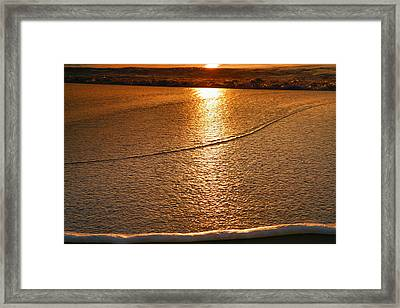 Leading Edge Framed Print by Steven Ainsworth