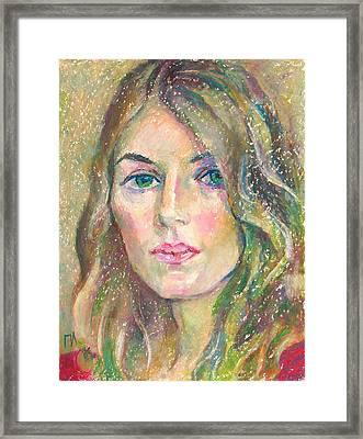 Leah Molina Framed Print by Leonid Petrushin