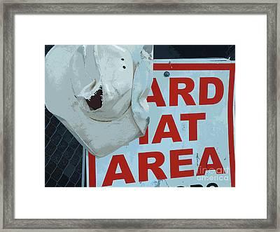 Learning The Hard Way Framed Print by Joe Jake Pratt