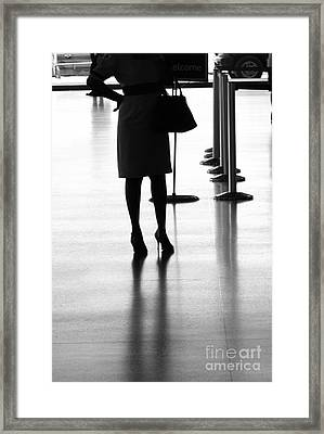 Leaving On A Jet Plane Framed Print by Rene Triay Photography