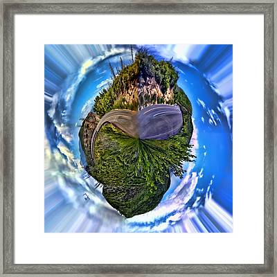 Left Or Right Framed Print by Adam Vance