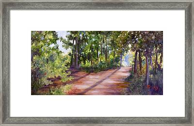 Left Or Right Framed Print by Sheila Kinsey