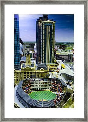 Legoland Dallas I Framed Print by Ricky Barnard
