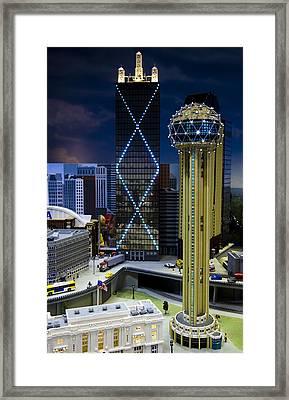 Legoland Dallas II Framed Print by Ricky Barnard