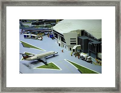 Legoland Dallas IIi Framed Print by Ricky Barnard