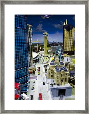 Legoland Dallas Iv Framed Print by Ricky Barnard