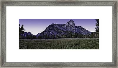 Leidig Meadow Framed Print by Nathaniel Kolby