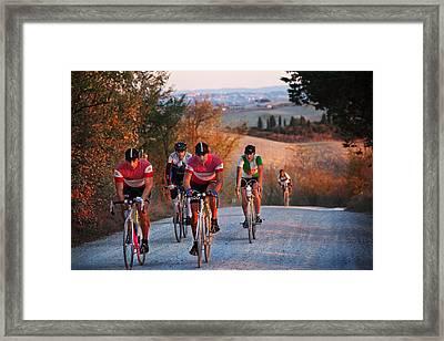 L'eroica-italy Framed Print by John Galbo