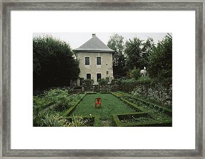 Les Charmettes, Home Of Philosopher Framed Print by James L. Stanfield