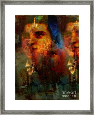 Les Missionaires Framed Print by Fania Simon