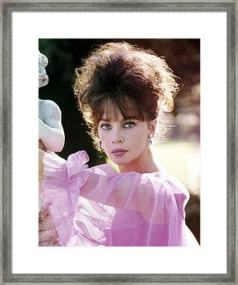 Leslie Caron, 1960s Portrait Framed Print by Everett