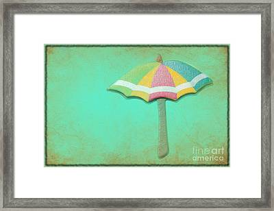 Let It Rain 1 Framed Print by Sophie Vigneault