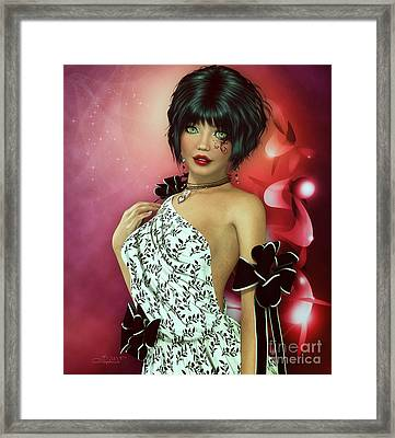Let Me Be Your Gift Framed Print by Jutta Maria Pusl