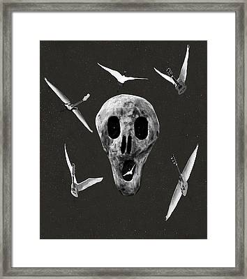 Let There Be Rock Framed Print by Eric Kempson