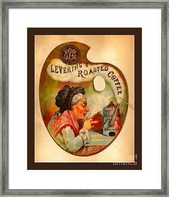 Levering's Roasted Coffee Framed Print by Anne Kitzman