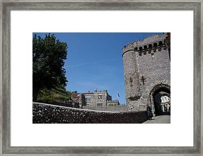 Lewes Castle Framed Print by Dawn OConnor