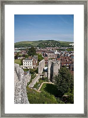 Lewes East Sussex Framed Print by Dawn OConnor