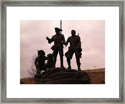 Lewis Clark York Seaman Framed Print by David Bearden