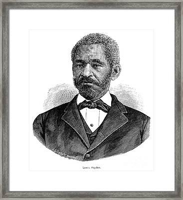 Lewis Hayden (1811-1889) Framed Print by Granger