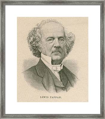 Lewis Tappan 1788-1873, Wealthy Framed Print by Everett