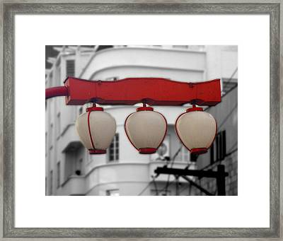 Selective Coloring Framed Print featuring the photograph Liberdade by Roberto Alamino