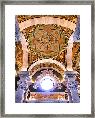 Library Of Congress I Framed Print by Steven Ainsworth