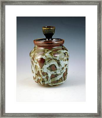 Lidded Figure Number 18 Framed Print by Alejandro Sanchez