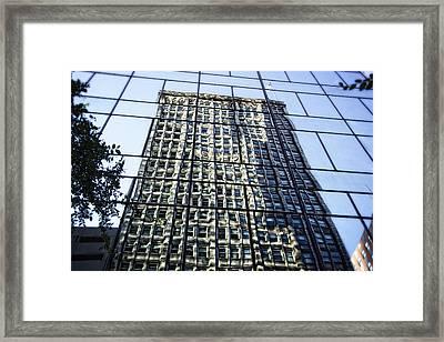 Life On The 32nd Floor Framed Print by Joan Carroll