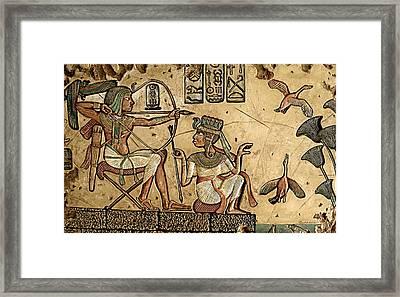 Life On The Nile II Framed Print by Greg Coffelt