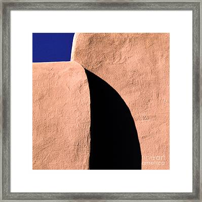 Light And Shadow Framed Print by Elena Nosyreva