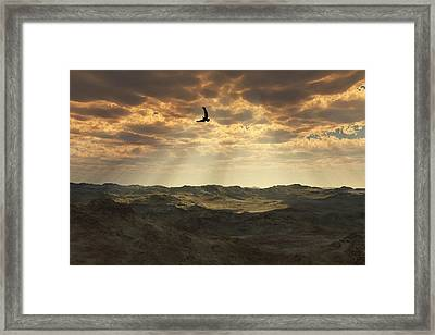 Light In The Valley Framed Print by Julie Grace