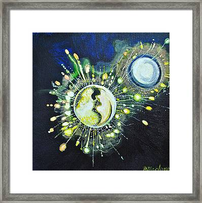 Light Music Framed Print by Patricia Arroyo