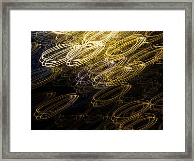 Light Painting 13 Framed Print by Hakon Soreide