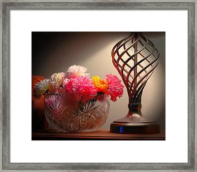 Light Sculptor  Framed Print by Ken Beatty