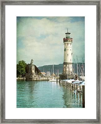 Lighthouse Framed Print by VIAINA Visual Artist