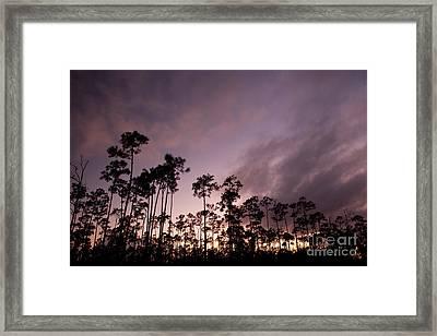 Lights Final Fanally Framed Print by Keith Kapple