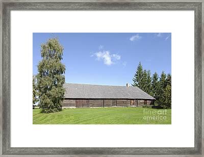 Liivi Museum Building Exterior Framed Print by Jaak Nilson