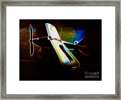 Lil Plane Framed Print by Cheryl Young