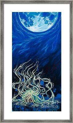 Lilitu Framed Print by Jenny Troolines