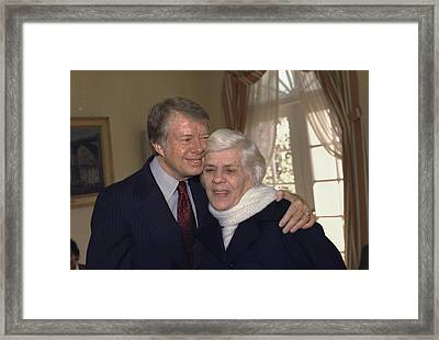 Lillian Carter The Presidents Active Framed Print by Everett
