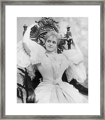Lillian Russell 1861-1922, Popular Framed Print by Everett