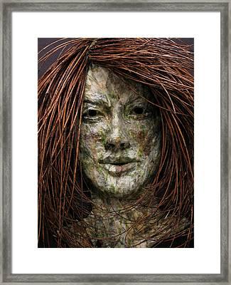 Lilly Framed Print by Adam Long