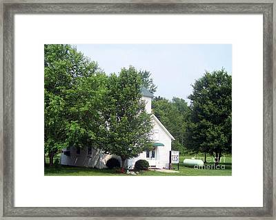 Limerick Reorganized Lds Church Framed Print by Charles Robinson