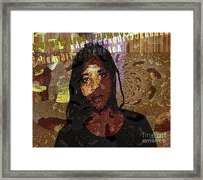 Limitless Framed Print by Fania Simon