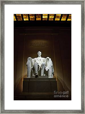 Lincoln Framed Print by Jim Chamberlain
