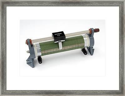Linear Potentiometer Framed Print by Trevor Clifford Photography