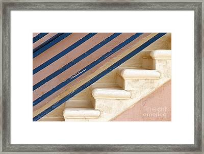 Lines Up Framed Print by Dan Holm